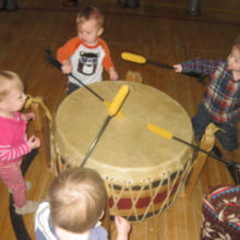 children_drumming