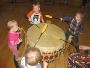 children_drumming